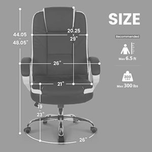 Neo Chair Office Chair Computer Desk Chair Gaming Ergonomic High Back Cushion Lumbar Support With Wheels Comfortable Black Leather Racing Seat Adjustable Swivel Rolling Home Executive 0 3