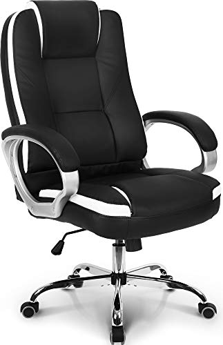 Neo Chair Office Chair Computer Desk Chair Gaming Ergonomic High Back Cushion Lumbar Support With Wheels Comfortable Black Leather Racing Seat Adjustable Swivel Rolling Home Executive 0