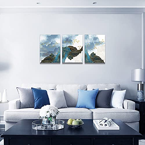 Wall Decor For Living Room Canvas Wall Art For Bedroom Modern Family Bathroom Canvas Art Kitchen Fashion Abstract Pictures Artwork Office Wall Paintings Ready To Hang Home Decoration 12 X 16 3 Piece 0 0