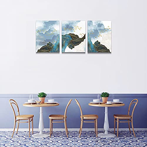 Wall Decor For Living Room Canvas Wall Art For Bedroom Modern Family Bathroom Canvas Art Kitchen Fashion Abstract Pictures Artwork Office Wall Paintings Ready To Hang Home Decoration 12 X 16 3 Piece 0 4
