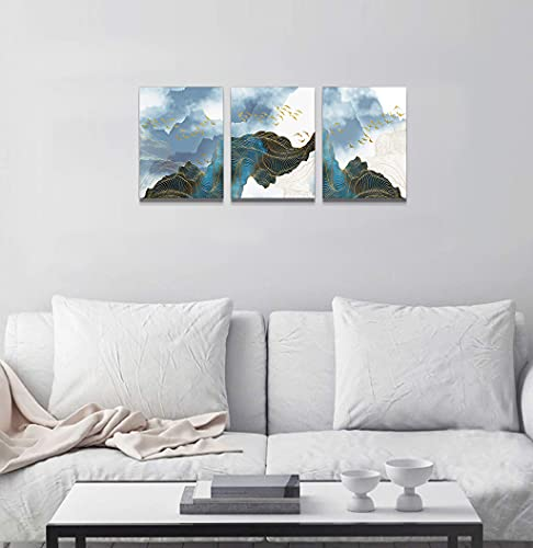 Wall Decor For Living Room Canvas Wall Art For Bedroom Modern Family Bathroom Canvas Art Kitchen Fashion Abstract Pictures Artwork Office Wall Paintings Ready To Hang Home Decoration 12 X 16 3 Piece 0 5