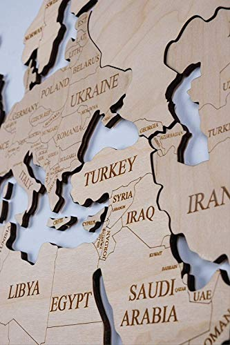 World Map Wall Art Wooden Map Wall World Map Wooden Travel Push Pin Map Rustic Home Farmhouse Decor Rustic Wall Art For Home Kitchen Wall Art For Office 0 2