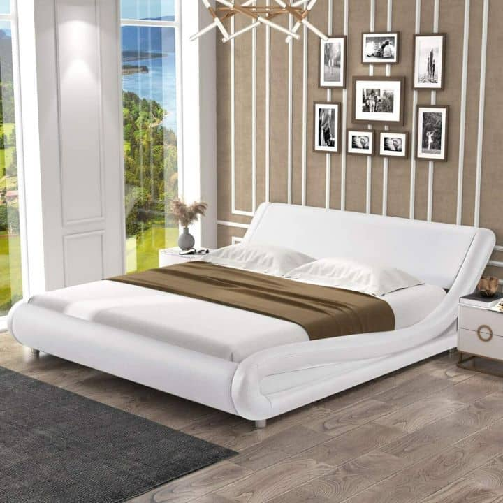 12 Cheap Queen Size Bed Frames With Style In 2021