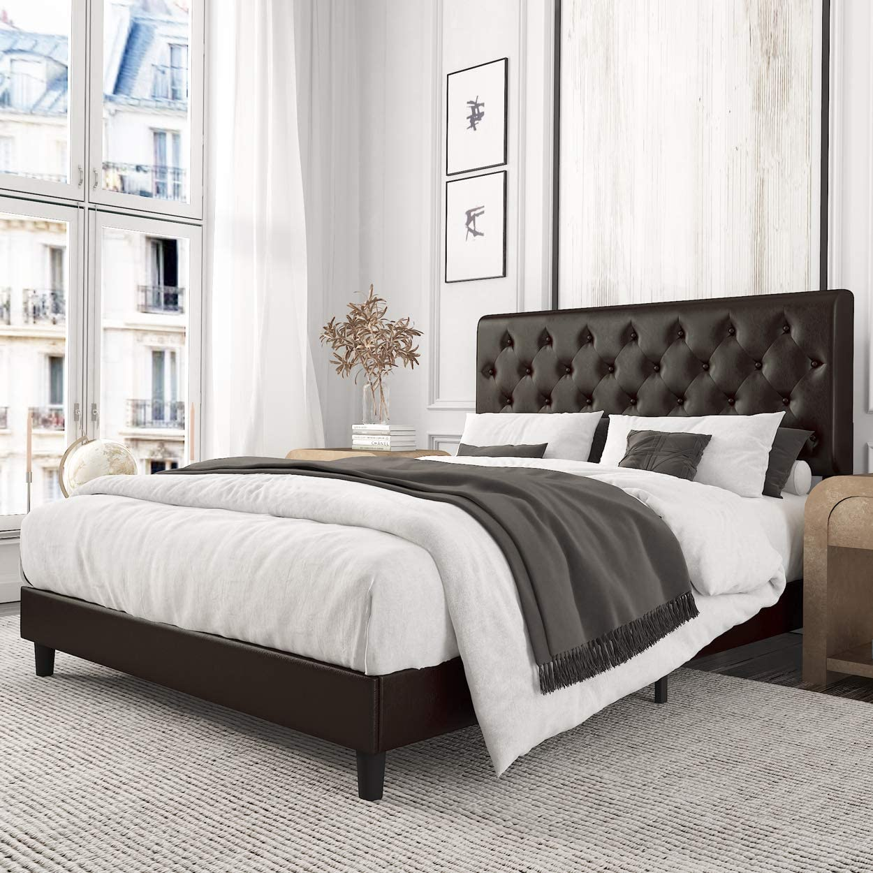 12 Cheap Full-Size Bed Frames That Look Expensive
