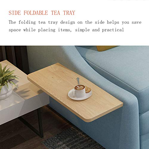 New Upgrade Convertible Sleeper Sofa Bedliving Room With Night Light And Coffee Table Loveseat Fold Out Storage Sofa Bedeuropean Futon Couch Furniture For Apartment And Small Spacewashable15M 0 4