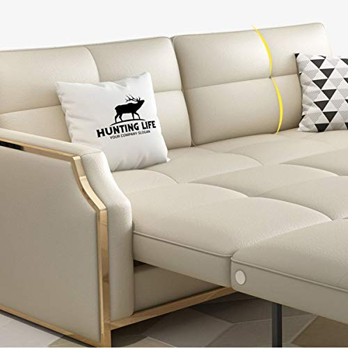 Premium Convertible Sofa Futon With Space Saving Storage Compartments Sofa Bed Couch For Living Roomergonomic Designfoldable Loveseat Sleeper Sofa Furniture Decorationwhite205M 0 4