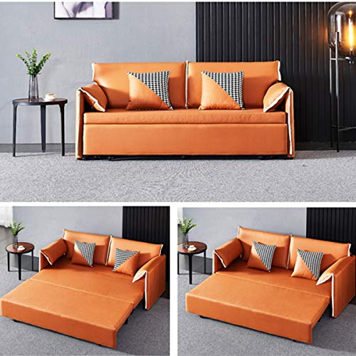 Snd A Convertible Sleeper Sofa Bed Loveseat Fold Out Bedmodern Fabric Sofa Bed Couch With Armrest Fold Up Down Foam Couch Guest Bed For Living Room Apartment And Small Space18M 0 0