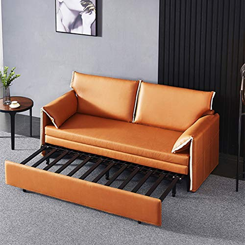 Snd A Convertible Sleeper Sofa Bed Loveseat Fold Out Bedmodern Fabric Sofa Bed Couch With Armrest Fold Up Down Foam Couch Guest Bed For Living Room Apartment And Small Space18M 0 3