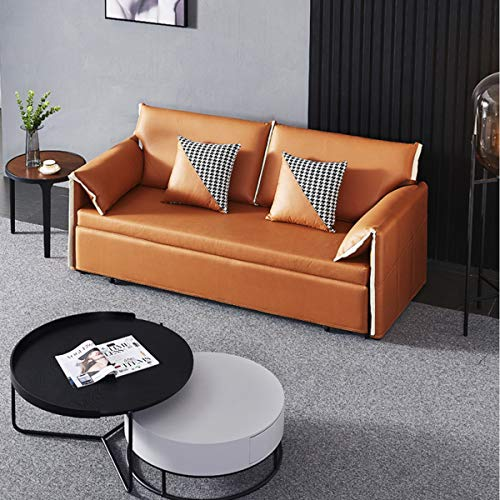 Snd A Convertible Sleeper Sofa Bed Loveseat Fold Out Bedmodern Fabric Sofa Bed Couch With Armrest Fold Up Down Foam Couch Guest Bed For Living Room Apartment And Small Space18M 0