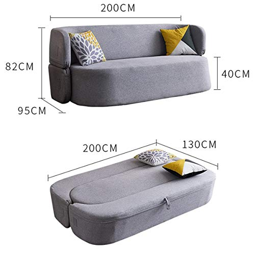 Snd A Creative Folding Lazy Sofamodern Living Room Furnituremultifunction Fabric Futon Couches Loveseat Sleeper Pull Out Couch Sofa Convertible Bed Comfortable Cushionwashable 0 0