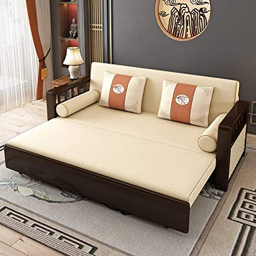 Snd A New Couches Sofas Bedeuropean Folding Storage Sofa Bedfabric Futon Couches Loveseat Sleeper Sofa Living Room Cushion Furniturepull Out Couch Sofa Convertible Beddark Gray196M 0 0